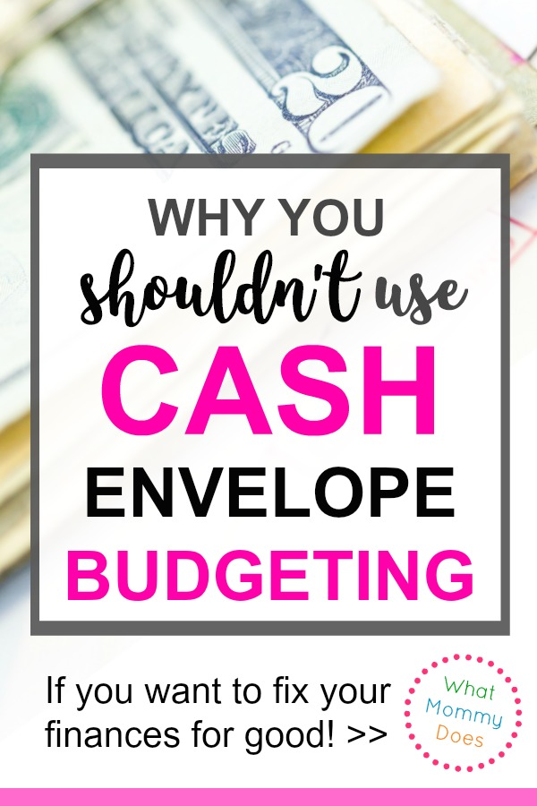 omigosh! I never thought of this until now! This is a very compelling reason NOT to use a cash envelope system to get your budget under control!!! So glad I read this before I put together my monthly budget. | budgeting for beginners, how to make a family budget, free tracking sheet, saving money ideas