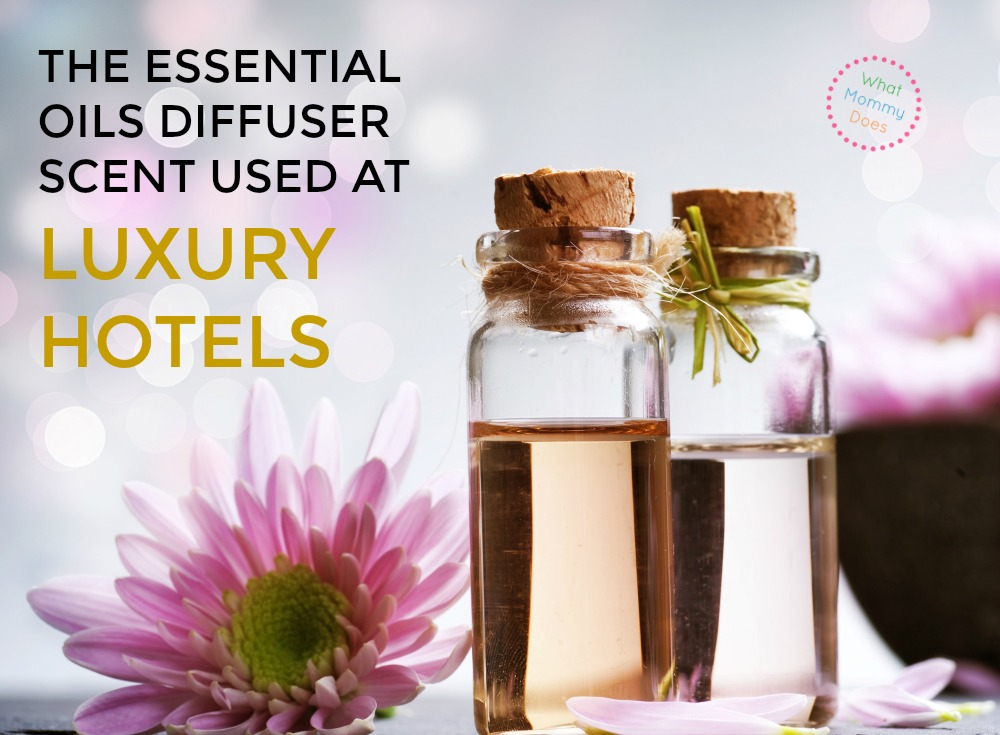 essential oil diffuser used at the Grand America hotel - the scent they use at spas edited