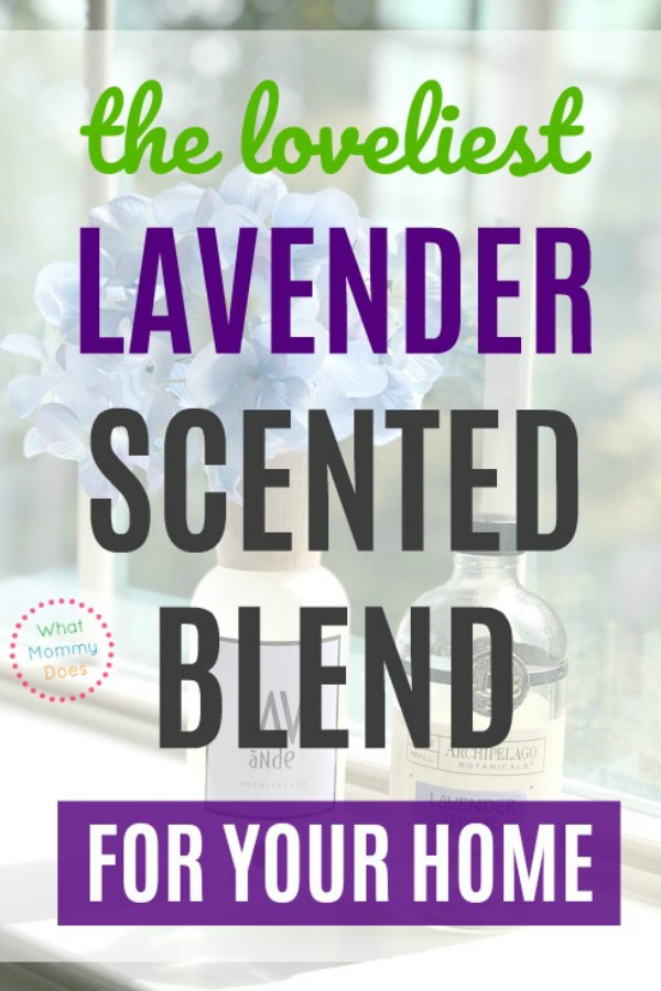 I've found THE BEST SMELLING lavender blend that makes my home smell AMAZING! This essential oils combo makes your house smell so good - you'll get tons of compliments! | fresh lavender scent for indoor use, aromatherapy ideas