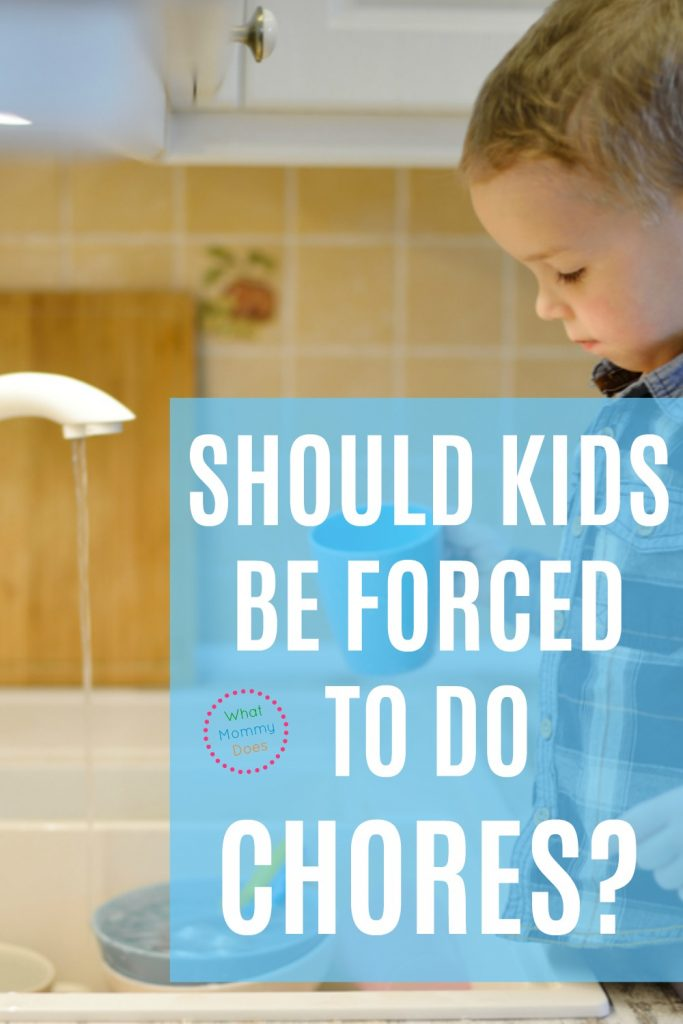 "Should you make your kids do chores around the house? This post looks at the argument from chore opponents. It's not as hard or as ""horrible"" as you think to get kids to do household tasks with a good attitude!"