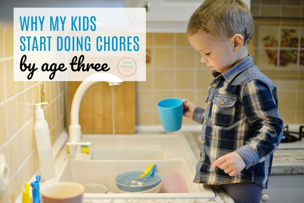 should kids do chores - argument for making kids do chores at home