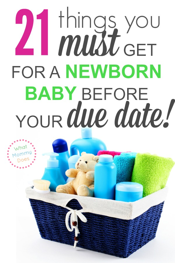 If you want to make double sure you're ready when the baby comes, review this list of things you MUST buy yourself (or put on your registry) before your due date! It's always good to be extra prepared.| get ready to have a baby, experienced mom of 3 tips