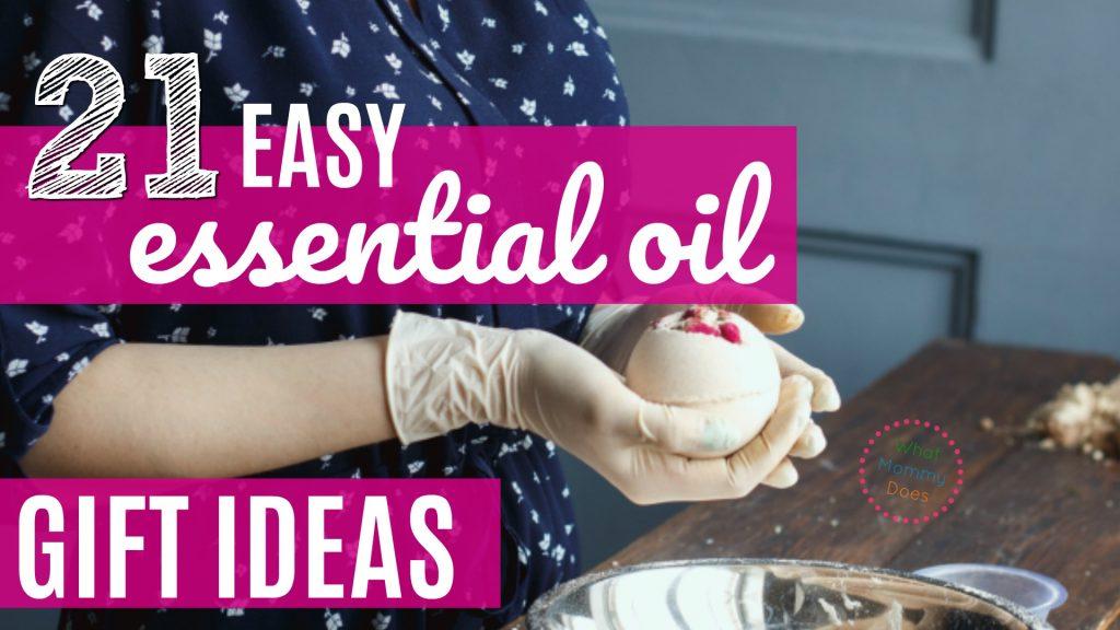 essential oil bath bombs Christmas gift ideas