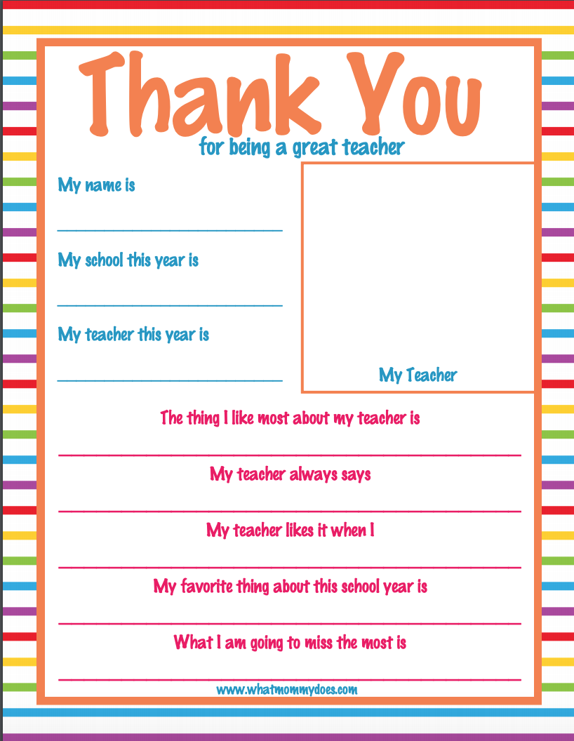 Screen-Shot-2019-01-19-at-11.25.35-AM Teacher Appreciation Letter Template on luncheon invitation, student note, for notes, sign up sheet, night invite, 2nd grade, week fan mail, note card, award free, superhero theme word,