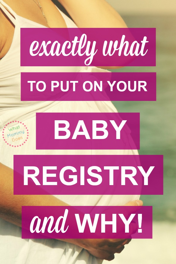 I wish someone had give me this list of MUST HAVE baby items so I wouldn't have felt so lost in setting up my baby registry! This is the BEST basic baby registry checklist I've ever seen - it's JUST a list of necessities. I'd recommend starting with these essentials to start your baby registry then build from there if you want to add more things. This has tips on where to register too!