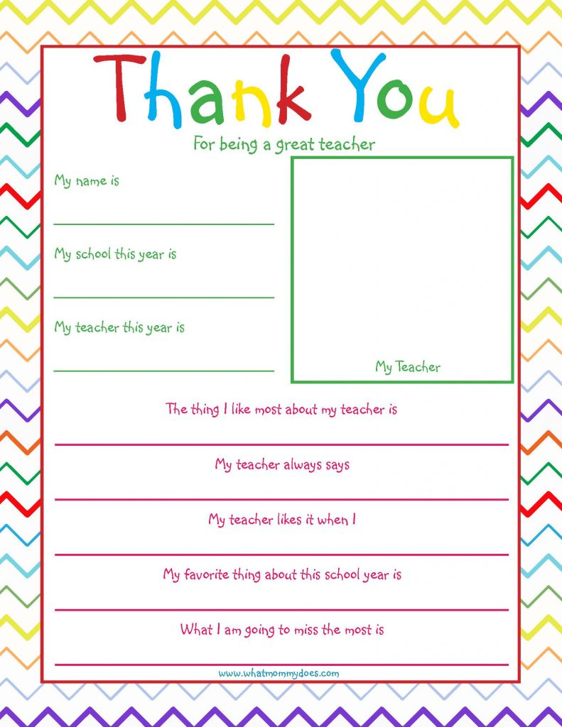 Resource image for thank you notes printable