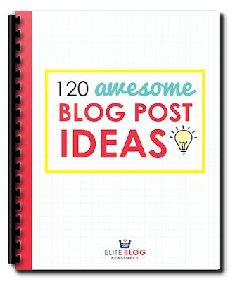 """This FREE CHECKLIST is the perfect way to generate lots of blog post ideas for your lifestyle and/or Christian blog! This explains what kinds of products you can write about, what kinds of personal posts to write, even articles that start discussions on your blog. You'll never wonder """"What should I blog about?"""" again!"""