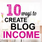 Here are 10 things you can do to MAKE MORE MONEY blogging. It's easier to follow a checklist like this rather than guess at everything!!